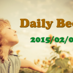 Daily Beckは今回で終わり! – Daily Beck 2015/02/07号
