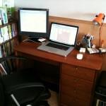 Thunderbolt Displayを買ってMacBookAirをメインマシンにしたよ