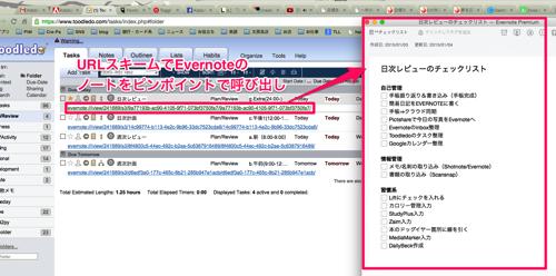 日次レビューのチェックリスト Evernote Premium と 1 Toodledo Your To Do List と 2015年の目標リフィル Evernote Premium と 5カ年計画リフィル 2015 Evernote Premium