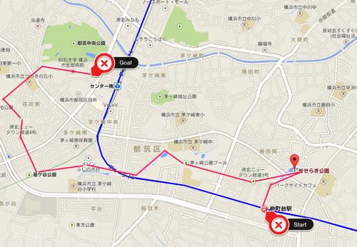 せせらぎ公園 Google マップ