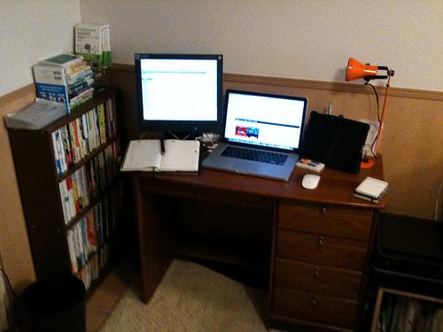 本邦初公開!これがBECKの書斎スペースだ!【BLOG版】