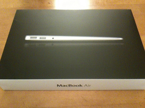 MacBookAirを買いました!ー開封レポート&〓abi case〓 紹介