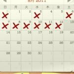 ベック日誌VOL.6(8月12日分)ー ついに体重が下降傾向に!