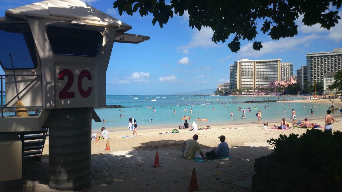 帰国前にハワイRUN & ワイキキビーチを堪能! - Daily Beck in Hawaii 6/11号
