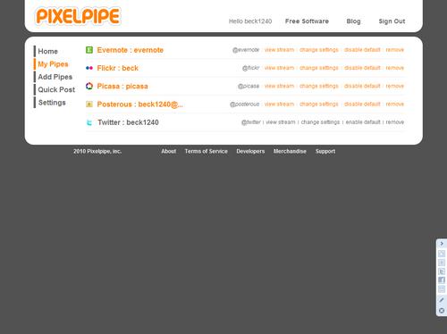 LANDISKを購入し、FlickrをProアカに移行し、Pixelpipeを導入しました