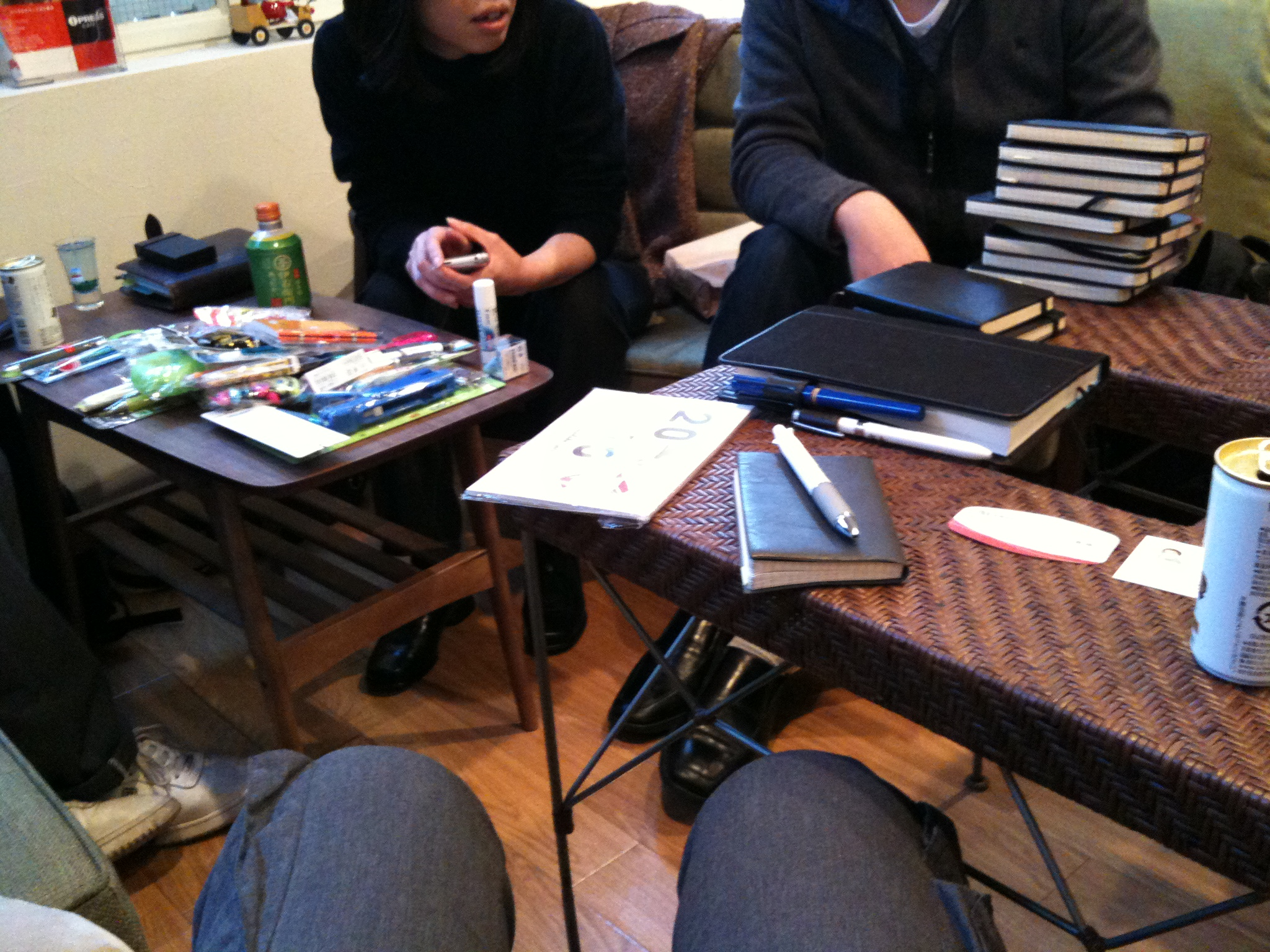 手帳オフ@渋谷(2) - WEBサービス&iPhone Hacks!