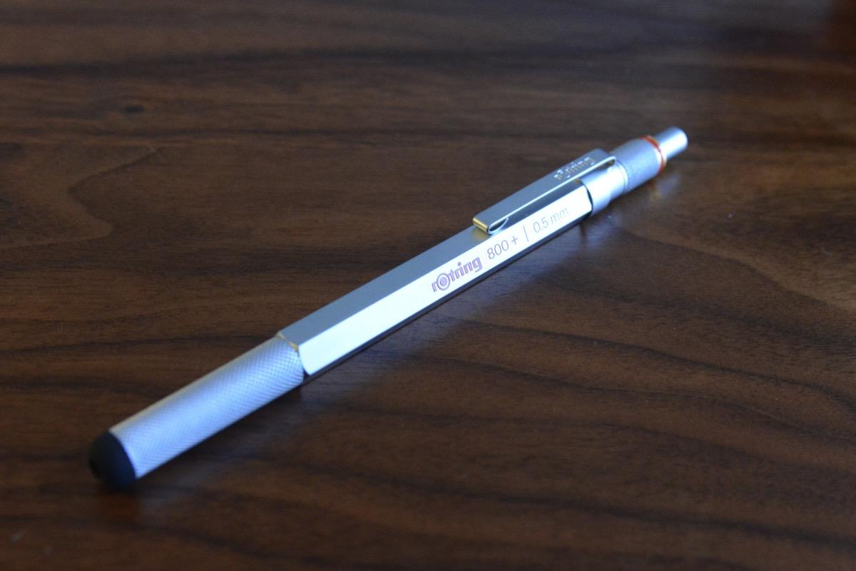 クリエイティブを刺激するスタイラス付シャープペンシル「rOtring 800+」