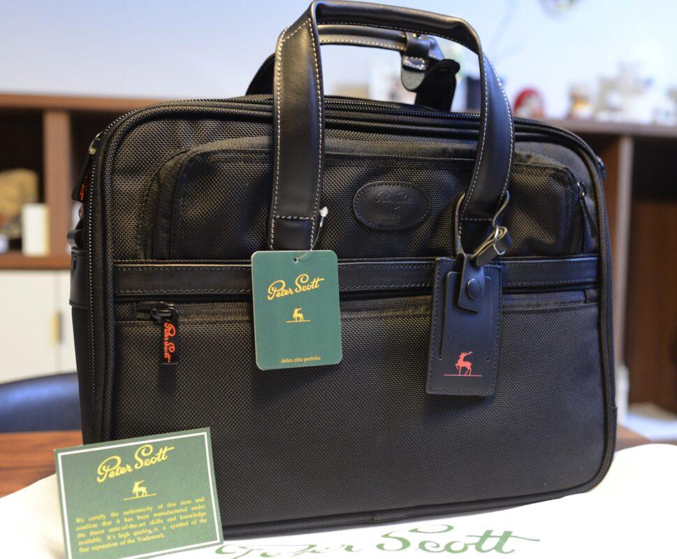 通勤鞄用に買った「Peter scott」のブリーフケースが予想以上に素晴らしすぎた件