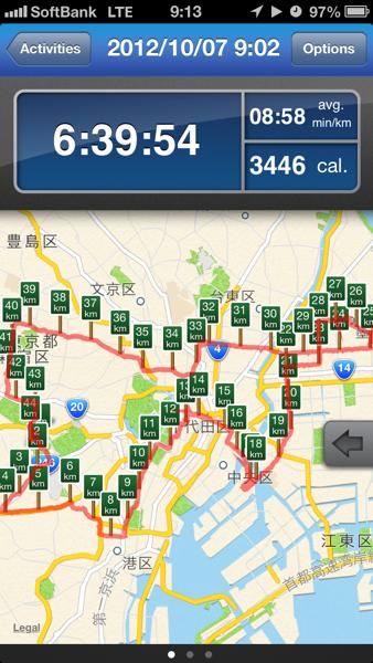 10/7東京夢舞いマラソンでフルマラソンを完走したら感動が止まらなかったというお話