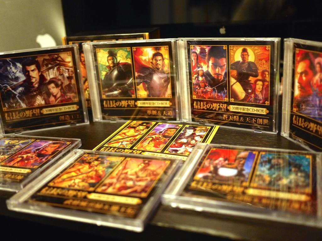 「信長の野望 30周年記念CD-BOX」を即買い!天翔記のBGM(菅野よう子)で作業がめちゃくちゃ捗ってます