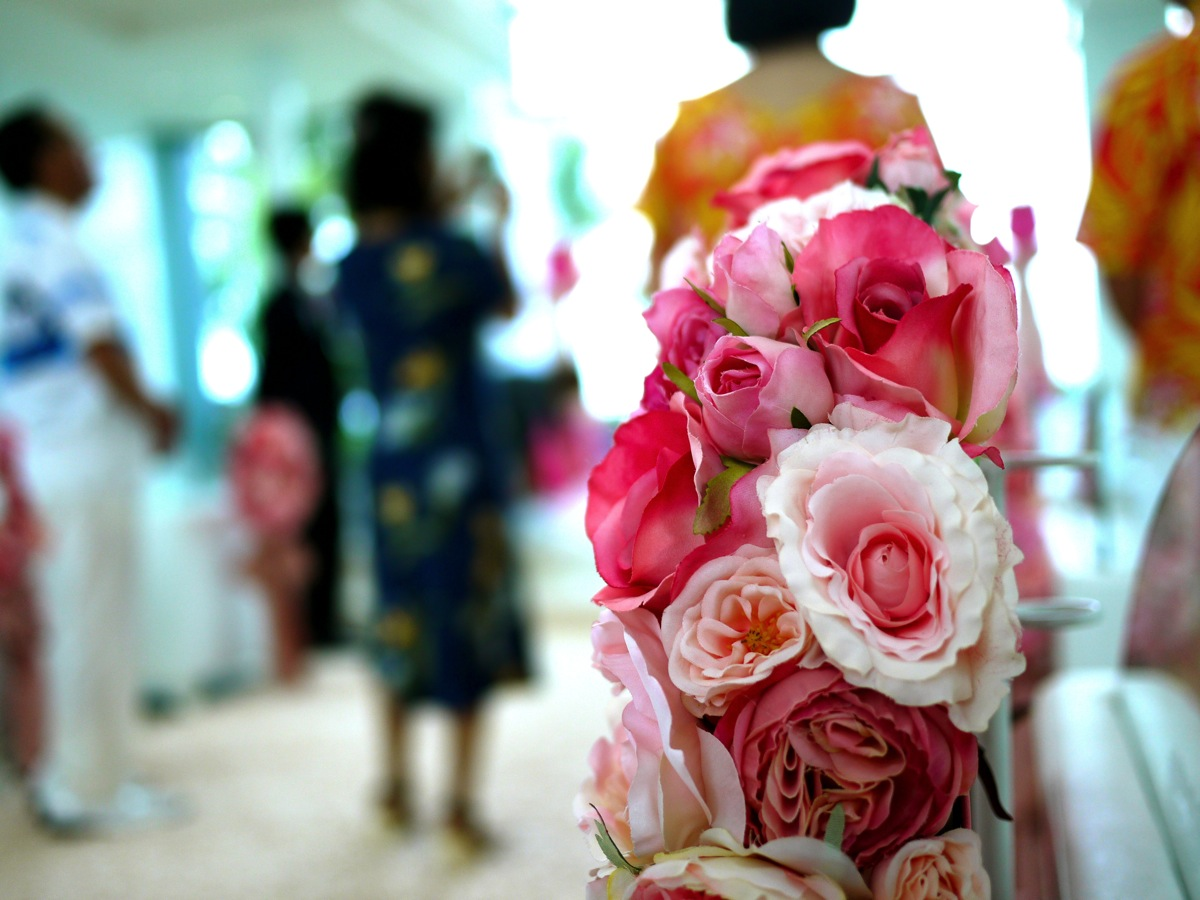 コオリナの結婚式場は実に祝福に満ちた雰囲気でした - Daily Beck in Hawaii 6/10号