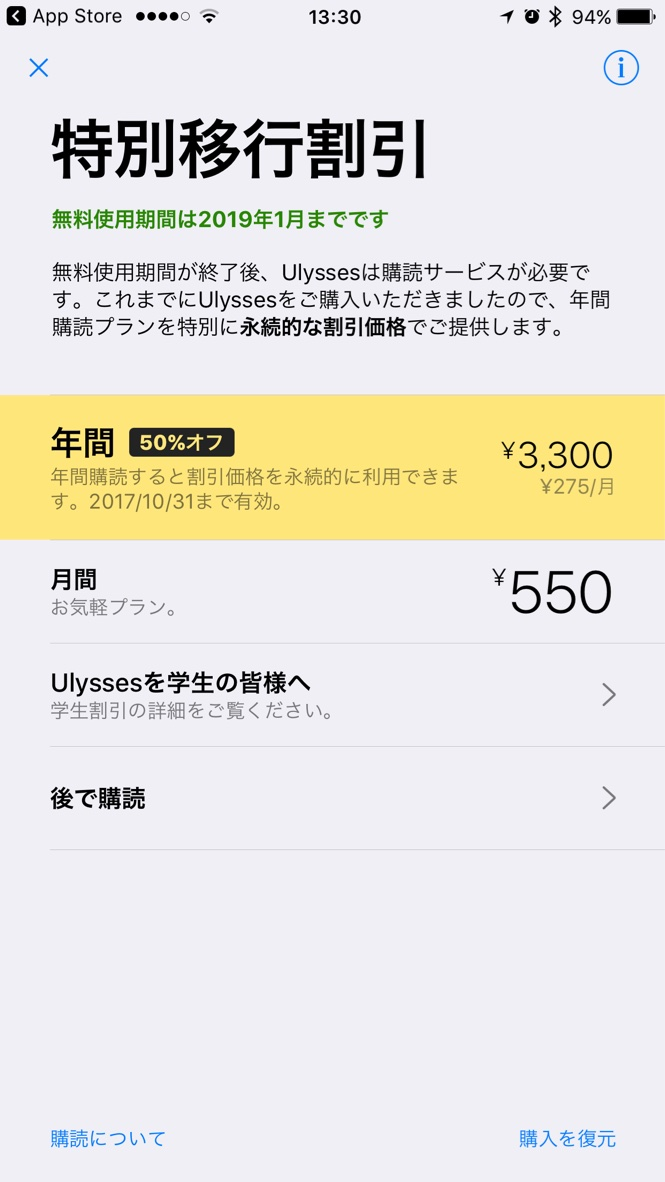 Ulyssesの救済プラン2